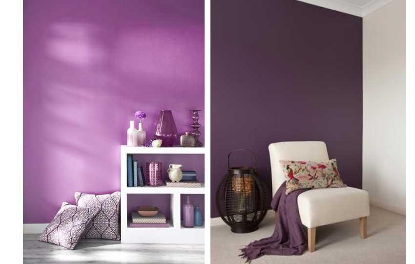 ألوان ديكور 2019 - اللون البنفسجي