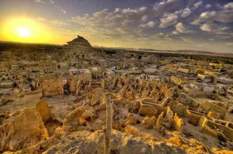 قلعة شالي في واحة سيوة
