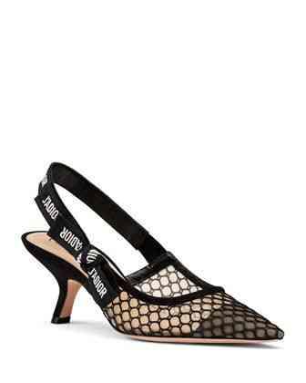 أحذية كعب عالي سوداء
