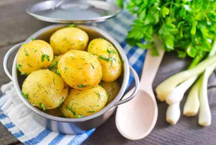 رجيم البيض والبطاطس