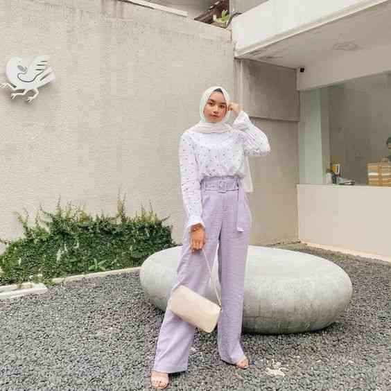ملابس محجبات كاجوال بسيطة
