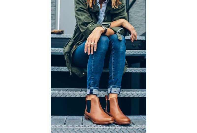 ملابس شتوية حذاء البوت القصير