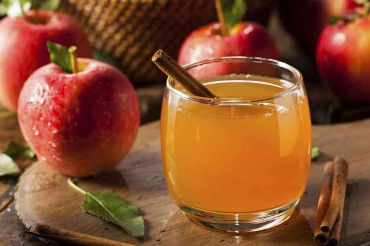 مشروبات صحية مشروب خل التفاح والقرفة