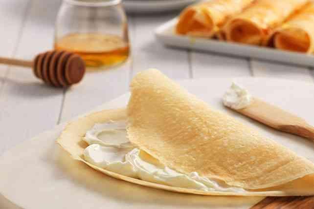 طريقة عمل الكريب بالجبنة