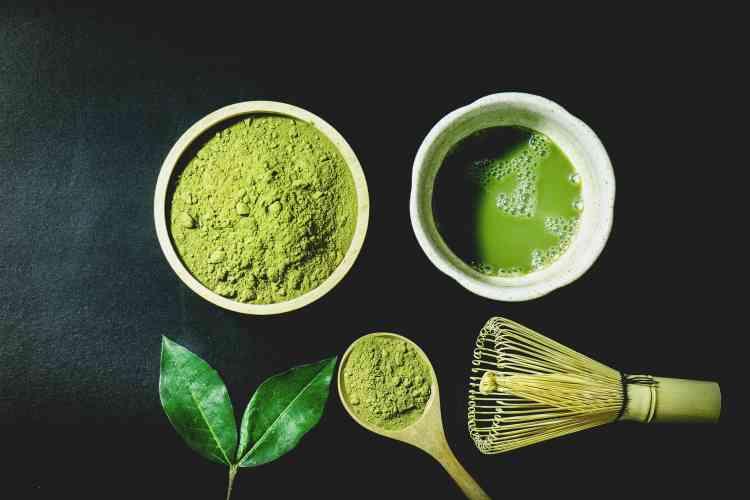 طريقة تحضير شاي الماتشا