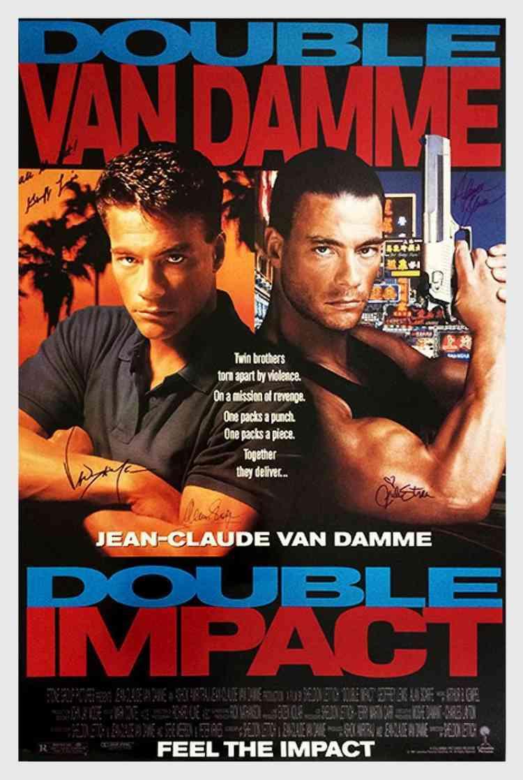 أفلام فاندام Double Impact