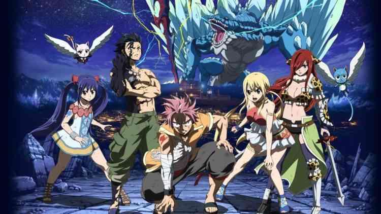 أفلام أنمي يابانية Fairy Tail: Dragon Cry