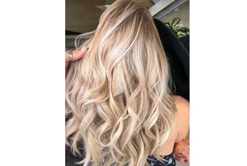 ألوان صبغات الشعر اللون الذهبي الكريمي