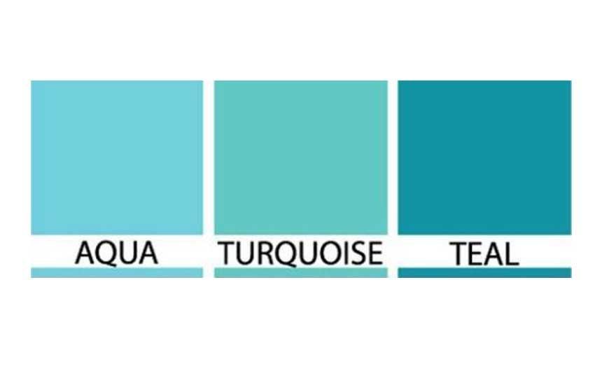 ألوان ديكور 2019 - اللون التركواز