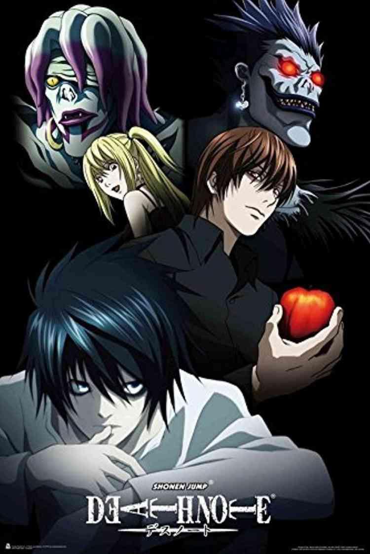 مسلسلات أنمي Death Note