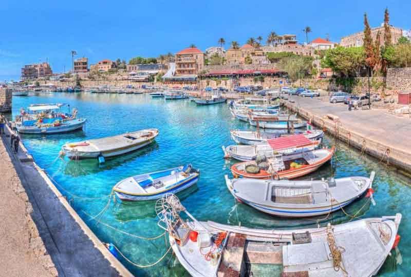 مدن عربية سياحية جبيل