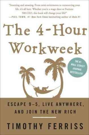 كتاب 4 ساعات عمل في الأسبوع- تيموثي فيريس