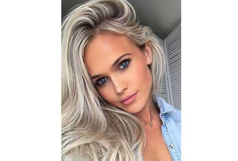ألوان صبغات الشعر اللون الفضي الميتاليك