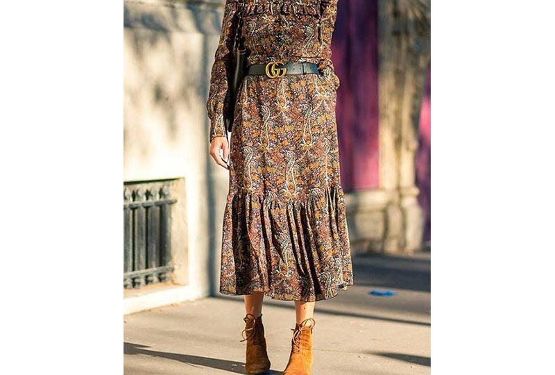 فستان شيفون أنيق