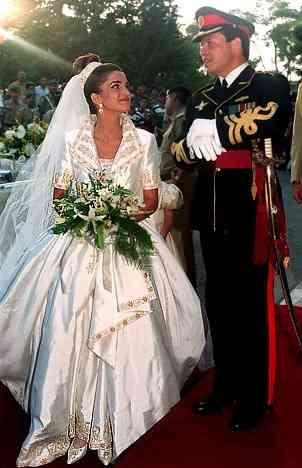 زفاف الملكة رانيا والملك عبد الله
