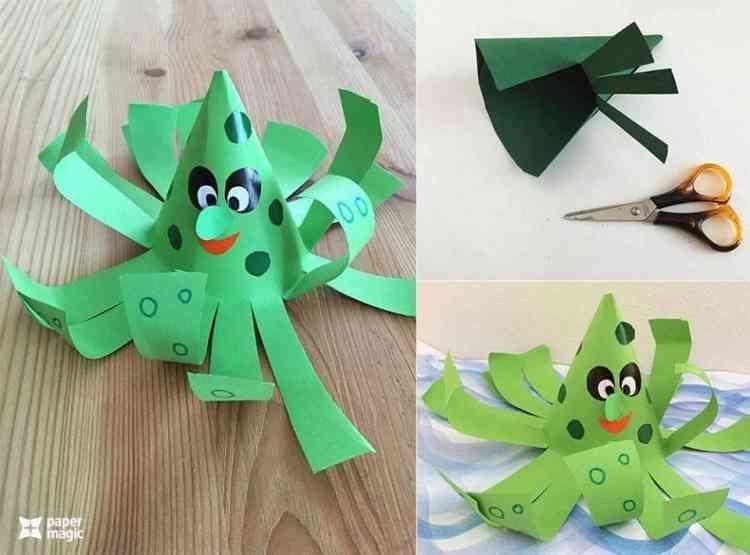 ألعاب أطفال من إعادة تدوير الورق