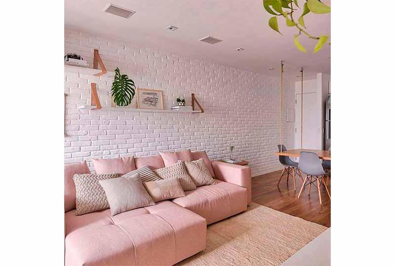حوائط مميزة في غرف المعيشة