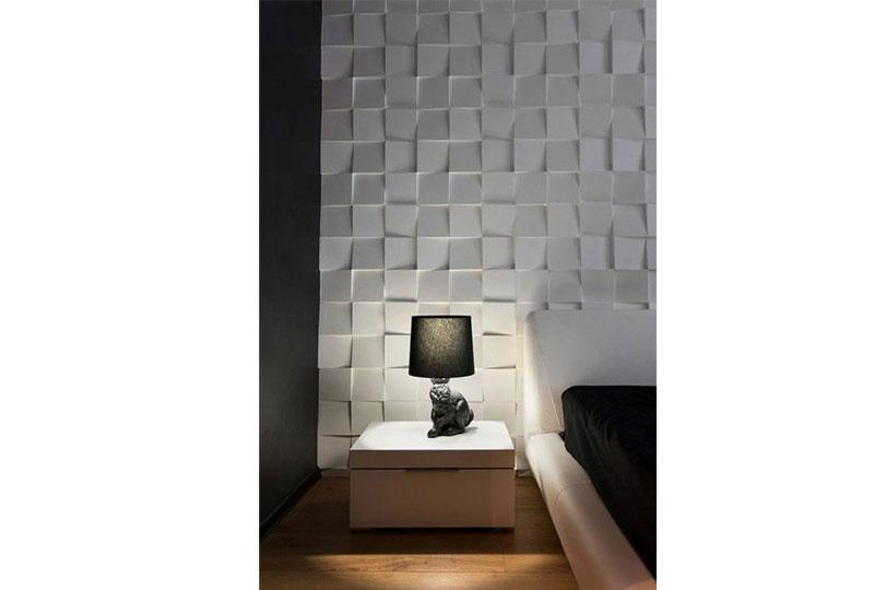 ديكورات حوائط ثلاثية الأبعاد لغرفة النوم