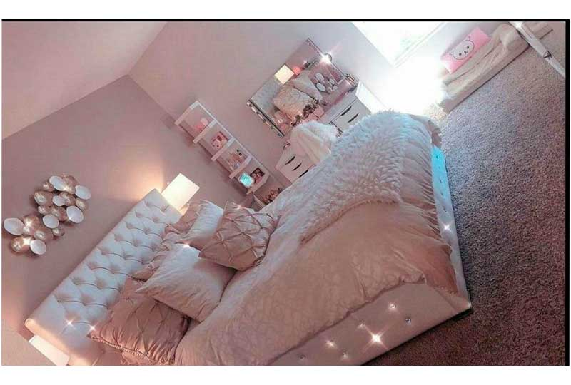 غرفة نوم شيك وراقية