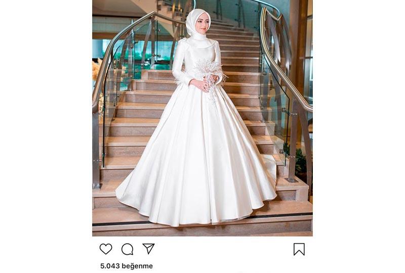 ستايل تركي لفستان الزفاف