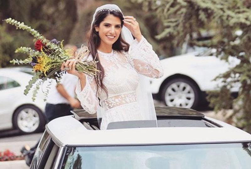 صورة من زواج كارمن بصيبص