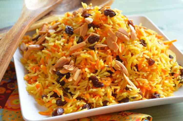 طريقة عمل الأرز البسمتي بالزبيب