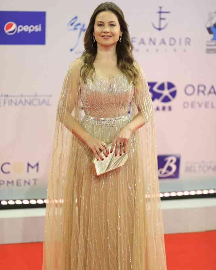 فستان رايا أبي راشد من مهرجان الجونة 2019