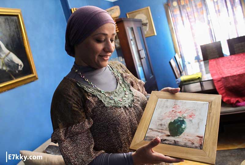 الدكتورة مي ندا وزوجها عبد الحميد