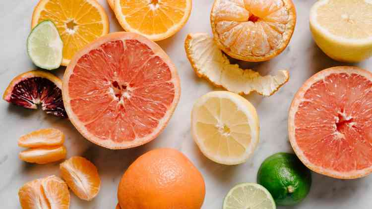نسبة فيتامين سي في البرتقال