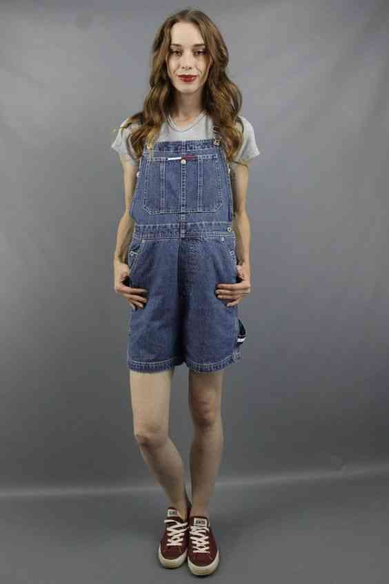 جمبسوت قصير جينز