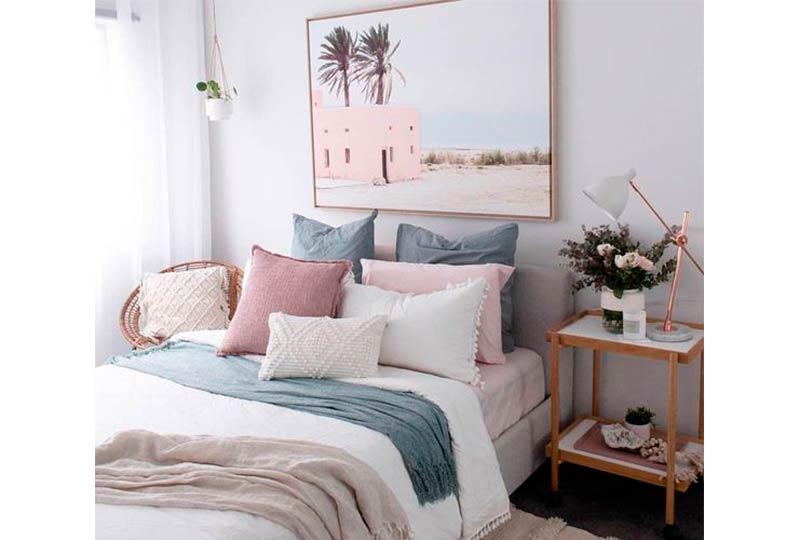 ألوان غرف نوم 2019