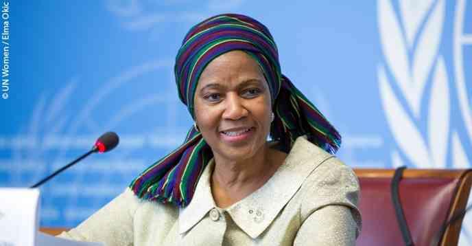 المديرة التنفيذية لهيئة الأمم المتحدة للمرأة
