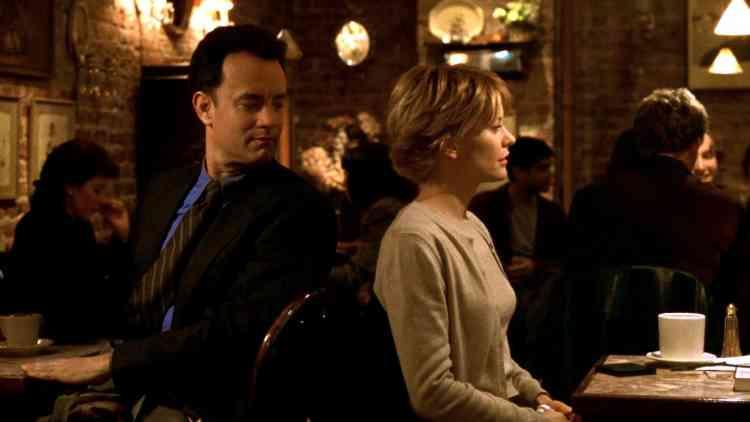 من الأفلام الرومانسية الأجنبية فيلم You've Got mail (1998)