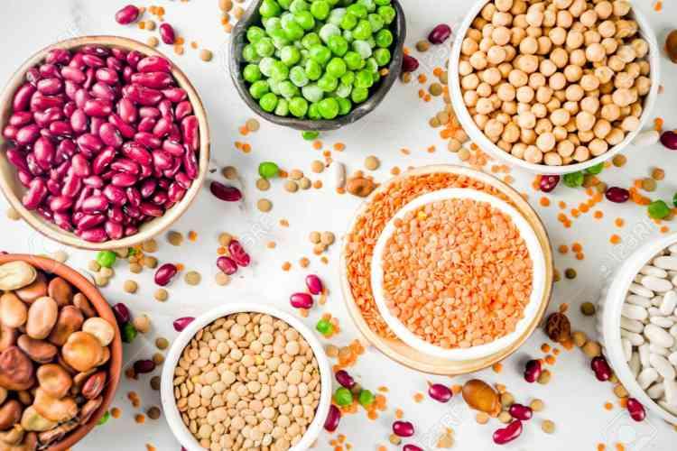 السعرات الحرارية للأطعمة - بقوليات