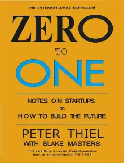 كتب ريادة الأعمال كتاب Zero to One