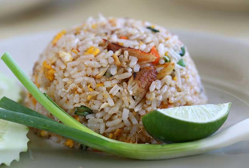 أرز بالمكسرات