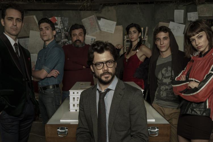 مسلسلات أكشن مسلسل La Casa de Papel
