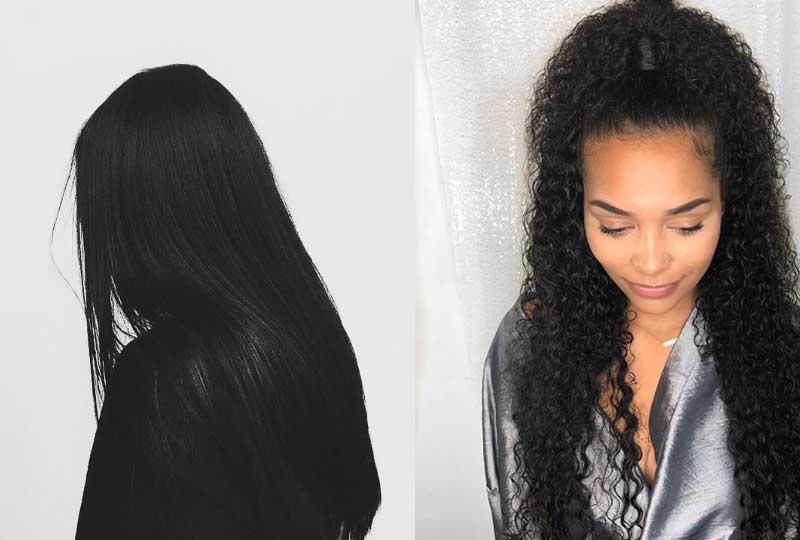 صبغة الشعر الأسود