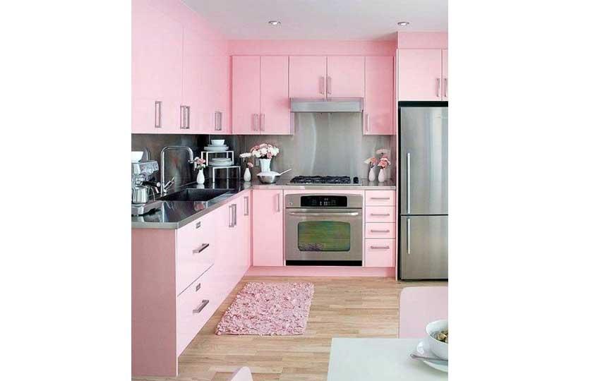 ألوان ديكور 2019 - اللون الوردي