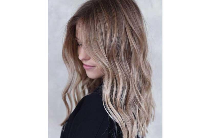 ألوان صبغات الشعر اللون الأشقر الحيادي للشعر متوسط الطول