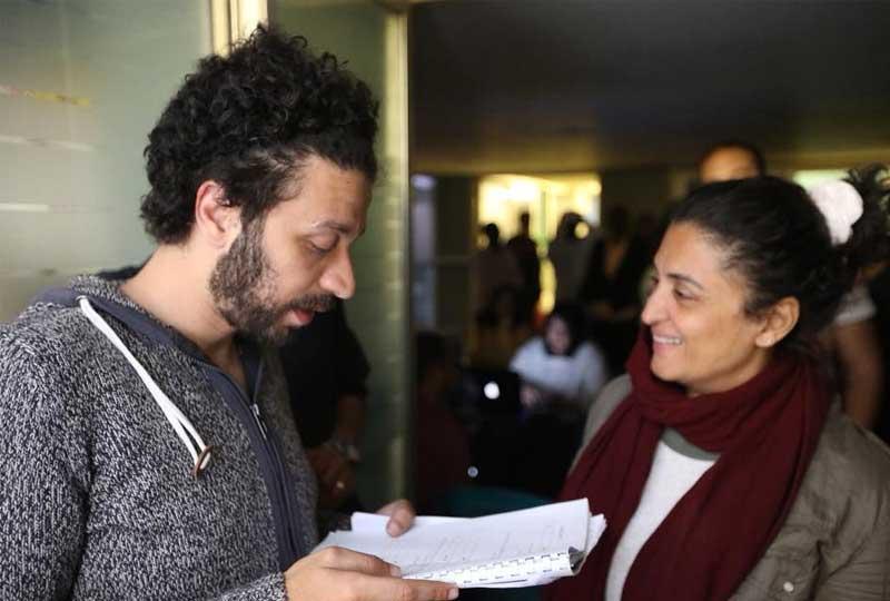 نانسي عبد الفتاح .. خلف الكاميرات يوجد مبدعون أيضا