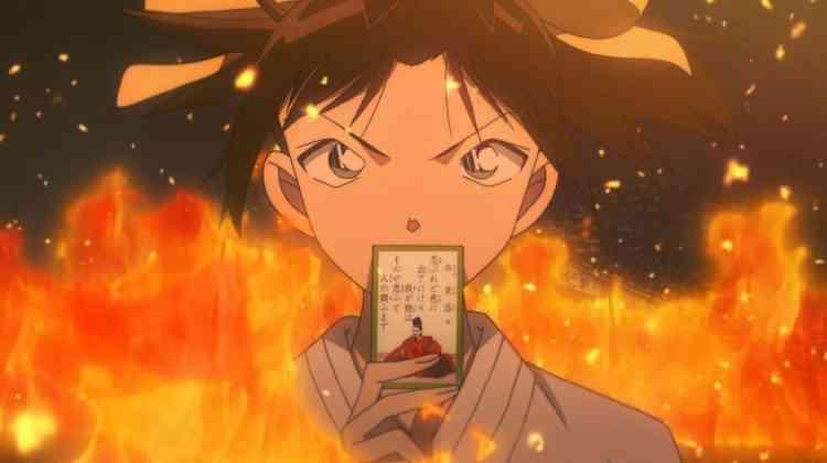 أفلام أنمي يابانية Detective Conan: The Crimson Love Letter