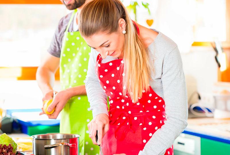 الطبخ مع زوجك