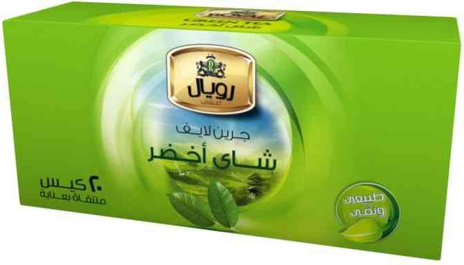 أفضل شاي أخضر رويال