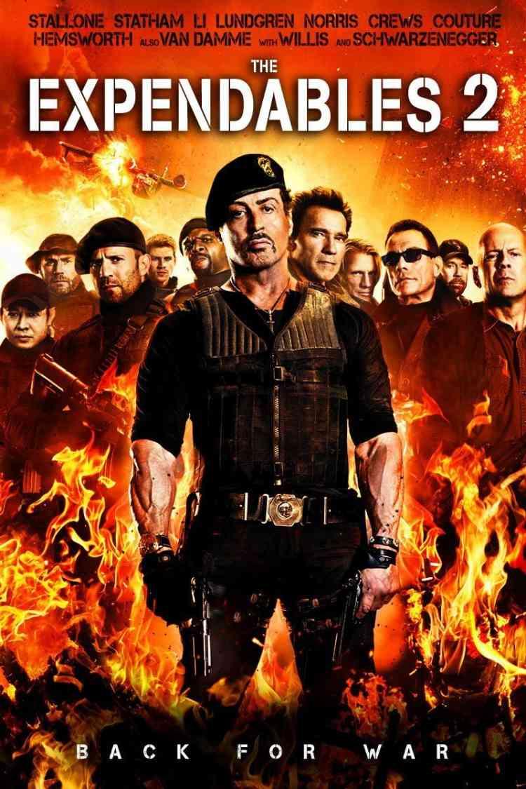 أفلام فاندام The Expendables 2