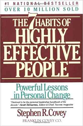 كتب تنمية بشرية كتاب The 7 Habits of Highly Effective People