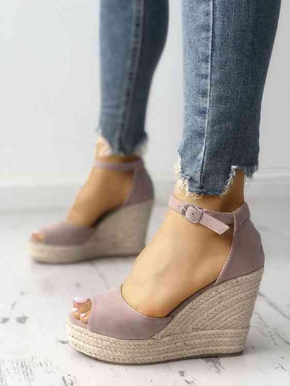 أحذية كعب عالي موف