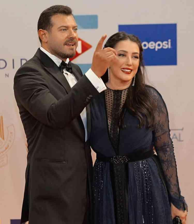 فساتين مهرجان الجونة السينمائي 2019 كندة علوش وعمرو ويوسف