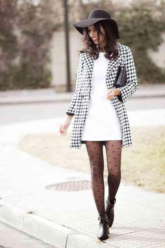فستان بليزر كاروهات