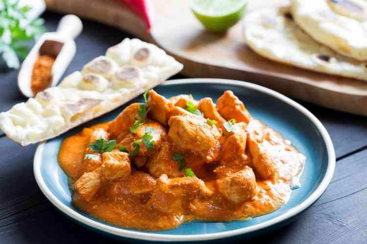 أكلات جديدة طريقة عمل دجاج بالزبدة الهندي